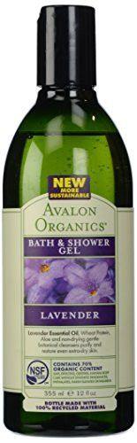 Avalon Organics Bath & Shower Gel (12 Ounce, Lavender)