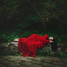 sleeping beauty in red by anka zhuravleva - Fine Photography by Anka Zhuravleva   <3