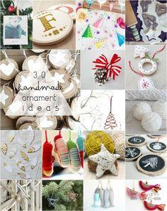 30 Handmade Ornament Ideas   MyFabulessLife.com