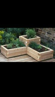 gumtree - custom recycled timber planter boxes