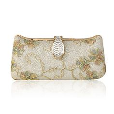 Satin With Rhinestone/ Glitter Evening Handbags/ Clutches More Colors Available – USD $ 49.49