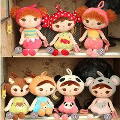 50cm New Fashion Cute Metoo Cartoon Stuffed Animals Angela Plush Toys Sleeping Dolls for Children Toy  Birthday Christmas Gifts