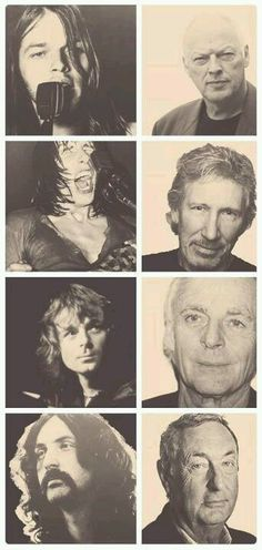 Pink Floyd-then and now