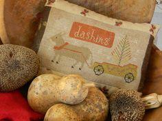Christmas Donkey  cross stitch PATTERN from by notforgottenfarm...