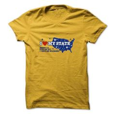 I love my state - #sweatshirt storage #sweater shirt. LIMITED AVAILABILITY => https://www.sunfrog.com/States/I-love-my-state.html?68278