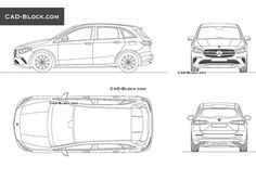 Here is a fully editable vector CAD drawing of a Mercedes-Benz car in DWG format. When purchased, this CAD model can be used however you like. Volkswagen Cc 2012, Volkswagen Phaeton, Volkswagen Jetta, Vw Passat, Chevrolet Spark, Car Design Sketch, Compact Suv, Cad Blocks, Mercedes Benz Cars