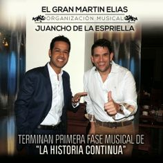 """@MartinEliasDiaz y @Jeronimo de la Espriella terminan primera fase musical """"La Historia Continua"""" - http://wp.me/p2sUeV-4af  - #Noticias #Vallenato"""