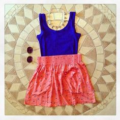 Summer outfit.#PrimerasVecesByCyzone