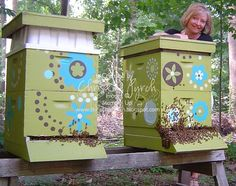 beautifying the hive