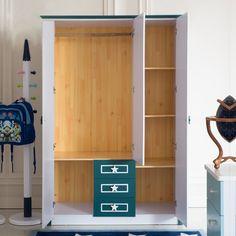 Открытый детский шкаф из мдф