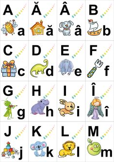 Romanian Language, Baby Chart, Animal Activities For Kids, Learning The Alphabet, Kids And Parenting, Homeschooling, Preschool, Historical Photos, Tudor