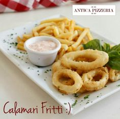 #calamarifritti #buonappetito #dinner #cena