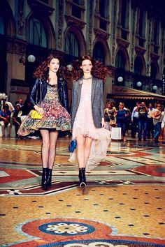 """Duchess Dior: """"Fun Time in Montenapoleone"""" by Ellen von Unwerth Vogue Japan September 2015"""