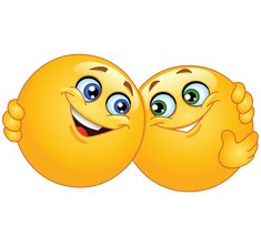 Does someone need a hug? Sending your friends these smileys hugging will make them feel loved!