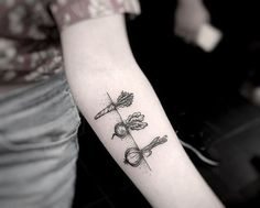 Tattoo Styles And Techniques. Part II - Vegan Tattoo studios - Tattoo Styles And Techniques. Part II – Vegan Tattoo studios Das schönste Bild für decorating c - Koch Tattoo, Botanisches Tattoo, Chef Tattoo, Roots Tattoo, Piercing Tattoo, Tattoo Hand, Nose Piercings, Nature Tattoo Sleeve, Nature Tattoos