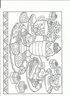 Kết quả hình ảnh cho food coloring pages for adults | Tô Màu Độc ...