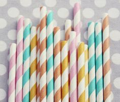 These straws would make any party.