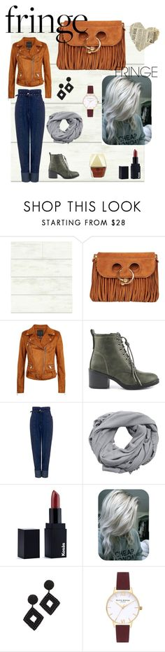 """""""!fringe contest"""" by lizenn-annah-binet ❤ liked on Polyvore featuring Magnolia Home, J.W. Anderson, London Rag, Rachel Comey, MANGO, KosÃ¥s, Kenneth Jay Lane, Topshop, Kendra Scott and fringe"""