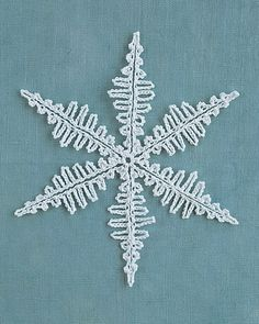 Four Crocheted Snowflakes - free patterns