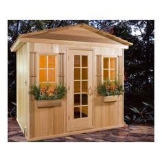 Baltic Leisure x x Outdoor Prebuilt Sauna with Shake Roof fass Saunas Outdoor Sauna, Outdoor Gazebos, Indoor Outdoor, Outdoor Living, Outdoor Play, Building A Sauna, Barrel Sauna, Traditional Saunas, Sauna Design