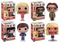 Big Bang Theory by Funko: Pop! Vinyls & Mystery Minis