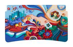 delta-coca-cola-wieden-kennedy-tray-art-project I Ilustracion I Makamo