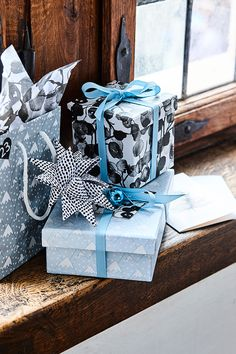 Gift wrapping ideas // See all the new products at Søstrene Grenes Christmas Catalogue 2016