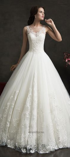 BEST #WeddingDresses of 2015 - Amelia Sposa 2015 Wedding Dress