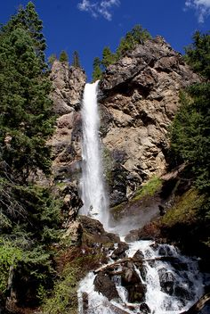 Treasure Falls, Colorado (located between Pagosa Springs & South Fork)