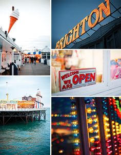 Eat Fish and Chips in Brighton Pier