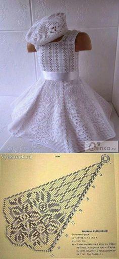 60 Ideas crochet dress girl design for 2019 Crochet Dress Girl, Crochet Baby Dress Pattern, Crochet Summer Dresses, Baby Dress Patterns, Crochet Girls, Crochet Baby Clothes, Crochet For Kids, Crochet Patterns, Pull Crochet