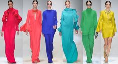 aniazajac.com RAINBOW | Gucci SS13 Bridesmaid Dresses, Wedding Dresses, Gucci, Rainbow, Fashion Trends, Bridesmade Dresses, Bride Dresses, Rain Bow, Bridal Gowns