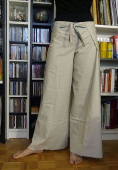 Japanese pants (free pattern) by TitesMains