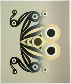 Tadpoles (2009) by Susan Point, Coast Salish