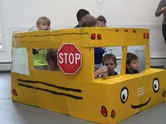 make your own pretend school bus learning ideas. Black Bedroom Furniture Sets. Home Design Ideas