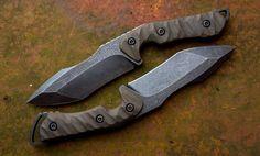 Torbé Custom Knives - ABSINTHE BOGEYs