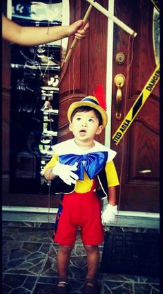 Pinocchio is a Real Boy! Check out the Costume Created by Super Talented Janette!
