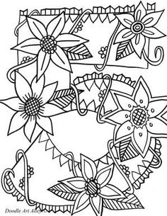free printable coloring pages (numbers) Pattern Coloring Pages, Free Coloring Pages, Printable Coloring, Coloring Sheets, Adult Coloring, Coloring Books, Alphabet Coloring, First Grade Freebies, Preschool Coloring Pages