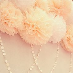 Items similar to 10 Poms. Wedding Decoration / Bridal Shower / Birthday / Party Decoration / DIY on Etsy Bridal Shower Favors, Wedding Favors, Diy Wedding, Dream Wedding, Wedding Day, Elegant Wedding, Birthday Party Decorations Diy, Wedding Decorations, Birthday Parties