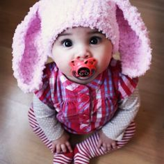 Crochet Bunny Hat Pattern For Children. - Crafts - Free Craft