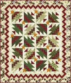 RickRack Christmas Trees Too quilt pattern