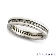 bvlgari 18ct gold tubogas ring bulgari pinterest ring luxury branding and
