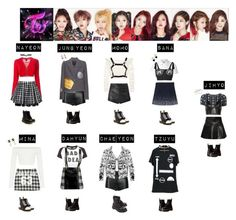 """TWICE - LIKE OOH AHH❤️"" by mabel-2310 ❤ liked on Polyvore featuring Jean-Paul Gaultier, DKNY, Acne Studios, Balenciaga, Betsey Johnson, StyleNanda, Yves Saint Laurent, Chanel, Dora Mojzes and La Perla"