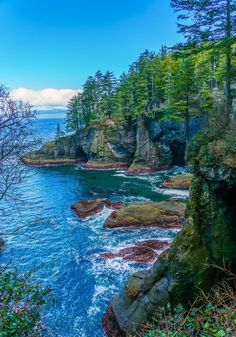 While it's not part of Olympic National Park, you should still make an effort to visit Cape Flattery, the northwestern most point in the continental United States. The Cape is located on Makah Native American land and once at the parking lot, you'll hike for 0.75 to get to jaw-dropping views.