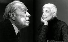 Borges todo el año: Susan Sontag: Carta a Borges (Imagen: Fotomontaje sobre JLB por David Boeno y SS por Annie Leibovitz) http://borgestodoelanio.blogspot.com/2014/06/susan-sontag-carta-borges.html