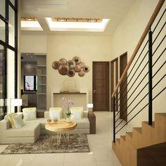 House Project Interior Design at East Jakarta 2015 Living Room Lvl 1