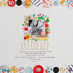 Scrapbook layout by