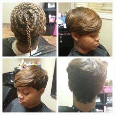 Fabulous 1000 Images About Hair Styles On Pinterest Short Quick Weave Short Hairstyles For Black Women Fulllsitofus