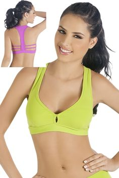 Our best selling Sports bra now in 2 cool neon colors!