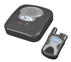 Great for active seniors looking for monitoring inside and outside of their homes. The pendant range offers security on the opposite side of the home, or in the driveway, or yard. The microphone and speaker in the pendant provide crisp, clear alerts in the palm of a hand.